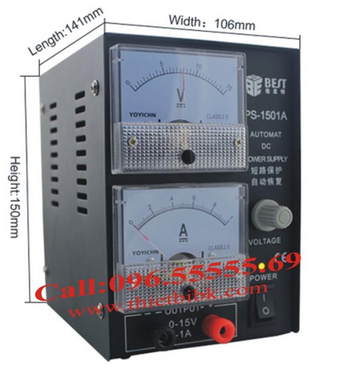 Bộ cấp nguồn BEST-1501A Power supply