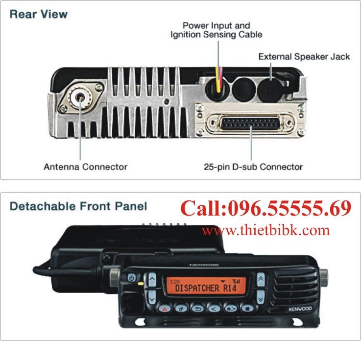 Bộ đàm cố định Kenwood NX-700 là hệ thống radio digital