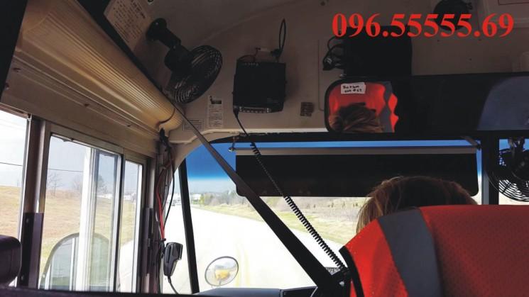 Bộ đàm cố định Kenwood NX-800 lắp đặt trên xe buýt