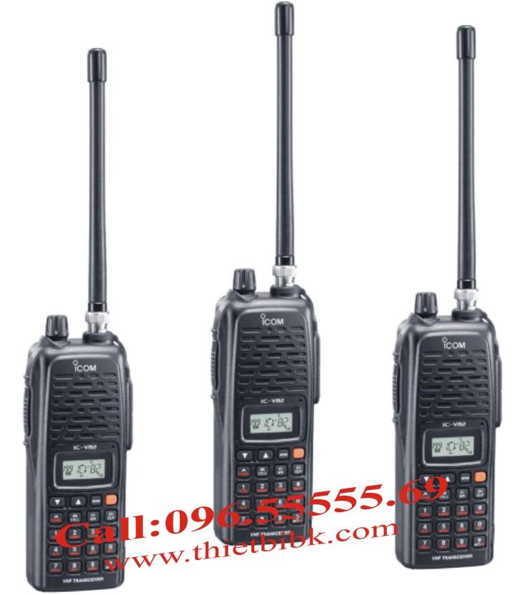 Bộ đàm iCOM IC-V82 VHF dùng cho khu du lịch