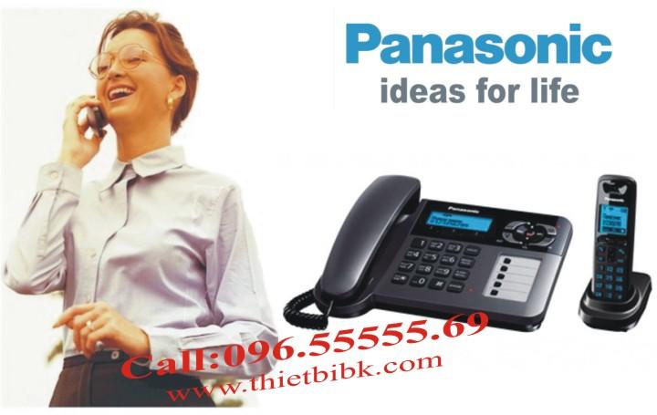 Điện thoại để bàn mẹ con Panasonic KX-TG6461 dùng cho văn phòng