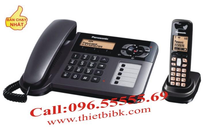 Điện thoại để bàn mẹ con Panasonic KX-TG6461 khi mất điện, máy mẹ vẫn hoạt động tốt