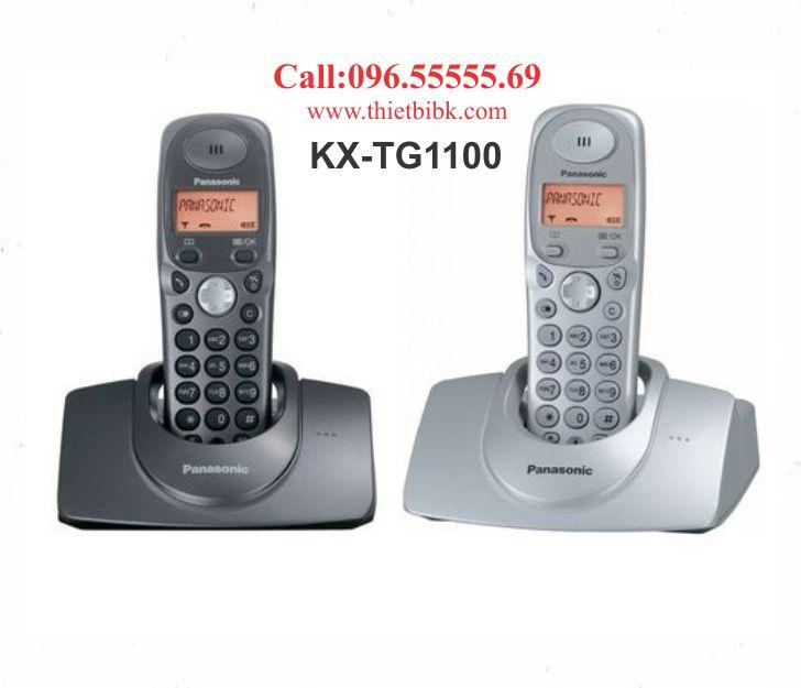 Điện thoại kéo dài Panasonic KX-TG1100 dùng cho văn phòng công ty