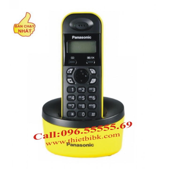 Điện thoại kéo dài Panasonic KX-TG1311 có màn hình 1.4 inch