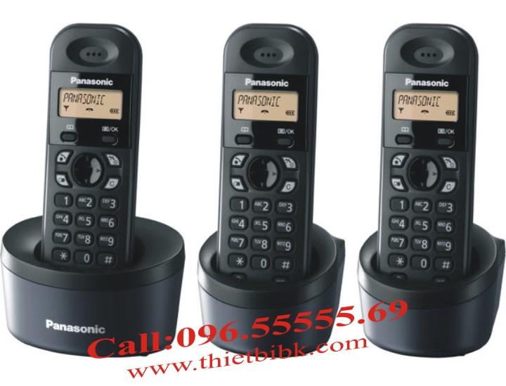 Điện thoại không dây Panasonic KX-TG1311 có thể mở rộng ra thêm 6 tay con
