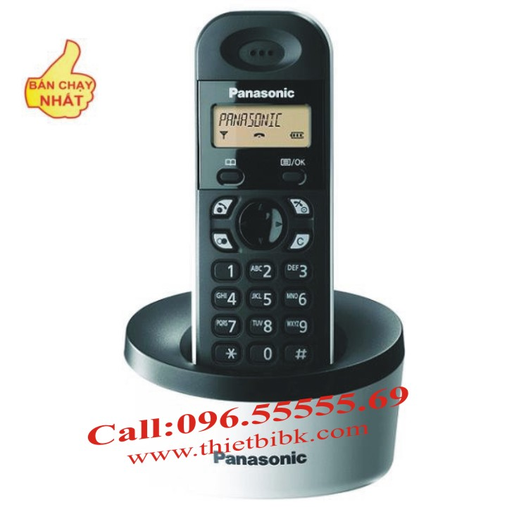 Điện thoại kéo dài Panasonic KX-TG1311 một tay máy con