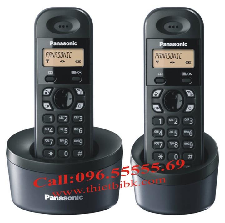 Điện thoại kéo dài Panasonic KX-TG1312 cấu hình cơ bản 1 máy mẹ, 2 máy con