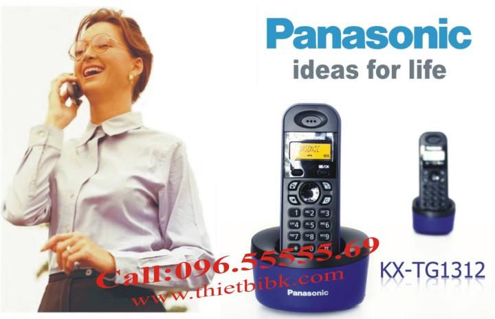 Điện thoại kéo dài Panasonic KX-TG1312 dùng cho văn phòng