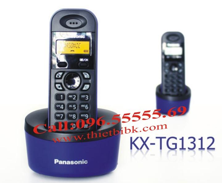 Điện thoại kéo dài Panasonic KX-TG1312 mầu mới