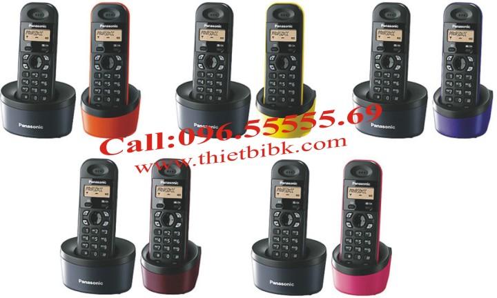 Điện thoại kéo dài Panasonic KX-TG1312 nhiều mầu sắc