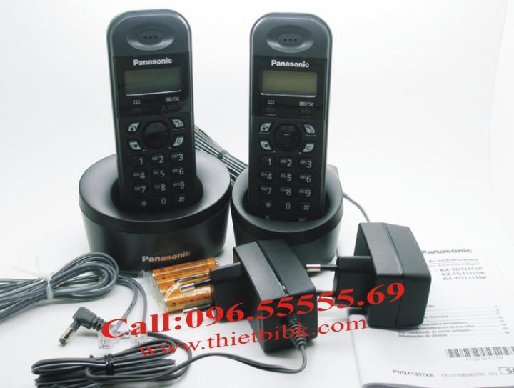 Điện thoại kéo dài Panasonic KX-TG1312 và phụ kiện