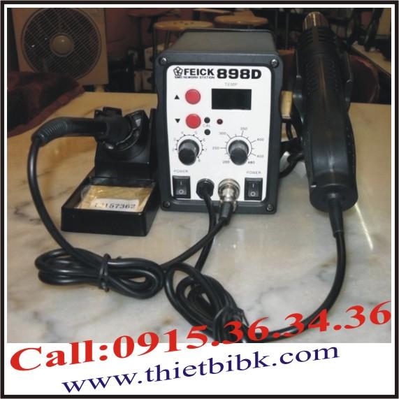 Máy khò nhiệt và hàn thiếc FEICK SMD-898D