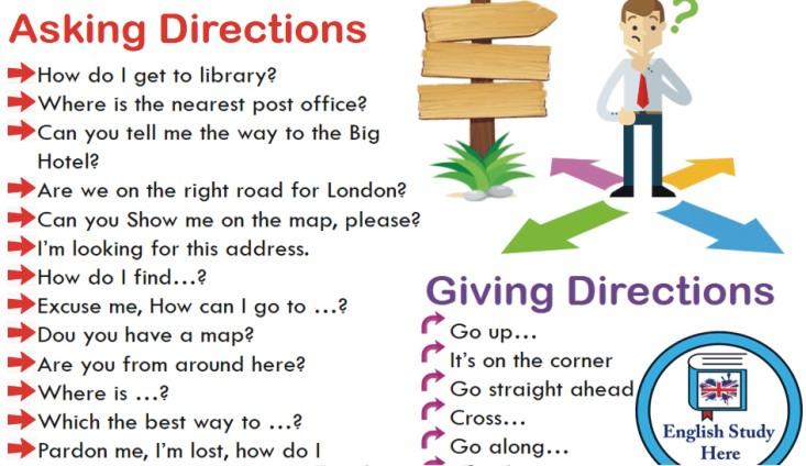 Học cách chỉ đường cho khách du lịch bằng Tiếng Anh
