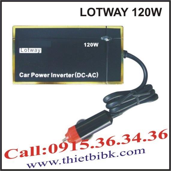 Máy đổi điện cho ô tô LOTWAY 120W