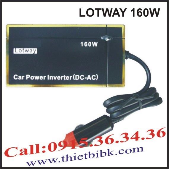 Máy đổi điện cho ô tô LOTWAY 160W