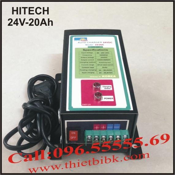 Máy Sạc ắc quy tự động Hitech Power 24V-20Ah