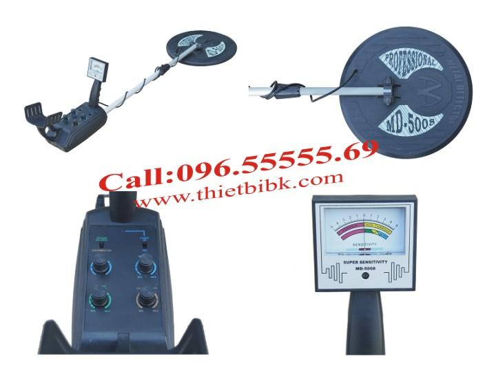Máy dò kim loại dưới đất Super Scanner MD-5008 1 đĩa dò chỉ thị bằng đồng hồ đo mức