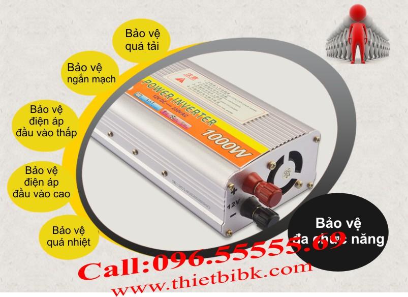 Máy đổi điện không sạc SUOER SDA-1000