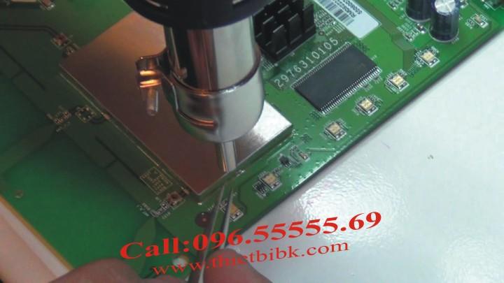 May kho nhiet GORDAK 850 SMD rework soldering station