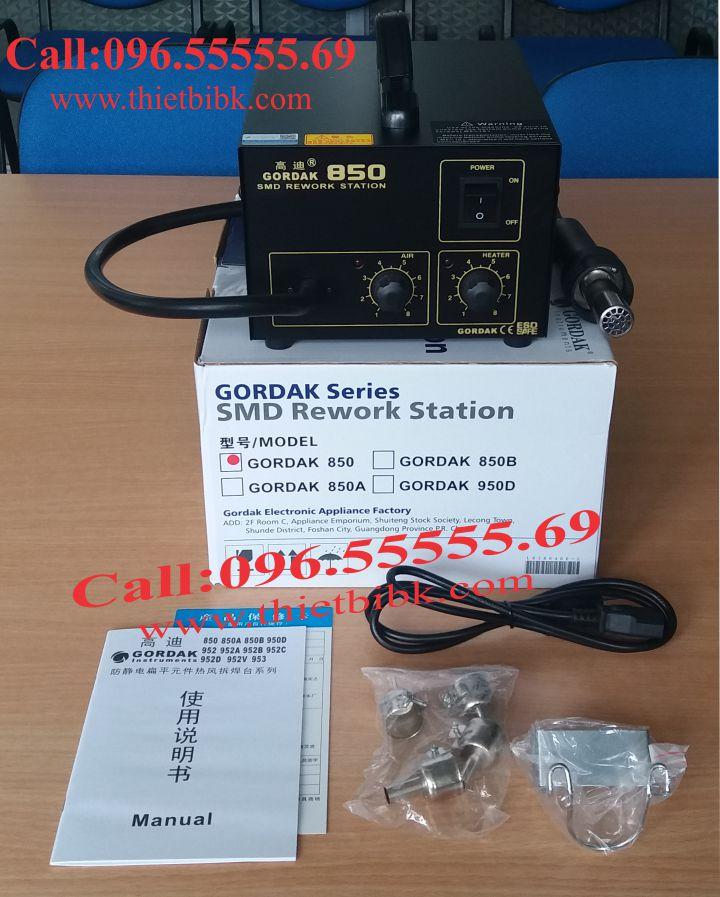 Máy khò nhiệt GORDAK 850 dùng cho thợ sửa chữa smart phone