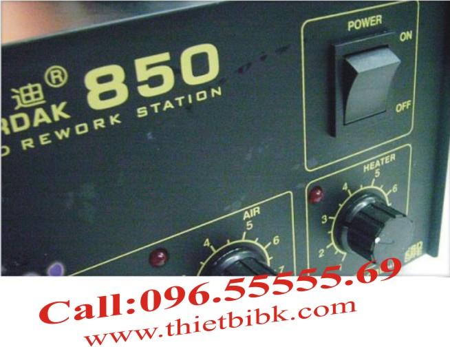 Máy khò nhiệt GORDAK 850 1