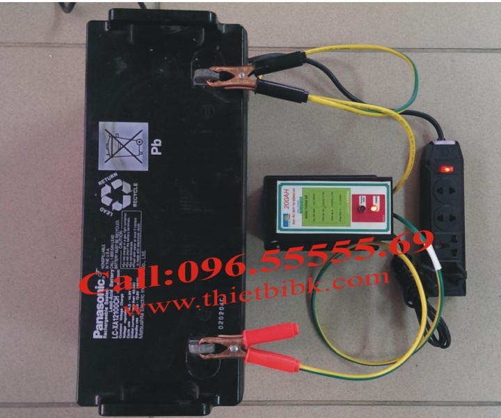 Máy Sạc ắc quy tự động Hitech Power 12V-200Ah dùng với bộ kích điện Inverter