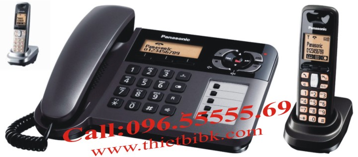 Tay máy con Điện thoại kéo dài Panasonic KX-TGA641 dùng để mở rộng số lượng máy con