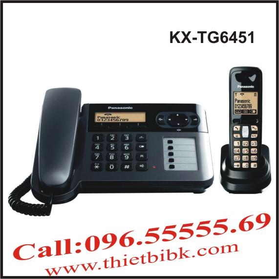 Điện thoại kéo dài Panasonic KX-TG6451