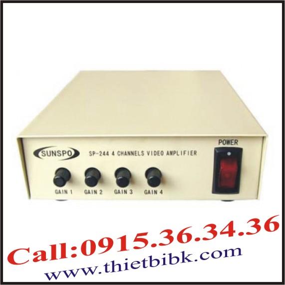 Bộ khuyếch đại tín hiệu 4 cổng Sunspo SP-244