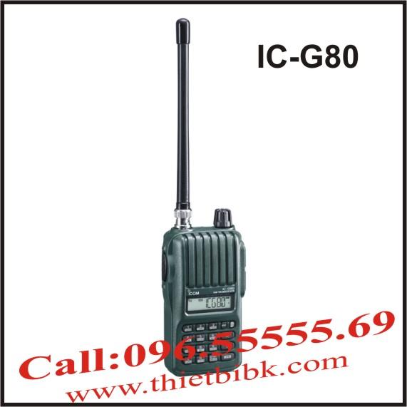 Bộ đàm iCOM IC-G80 dùng cho sân bay