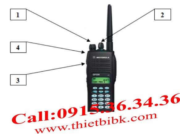 hướng dẫn sử dụng bộ đàm Motorola
