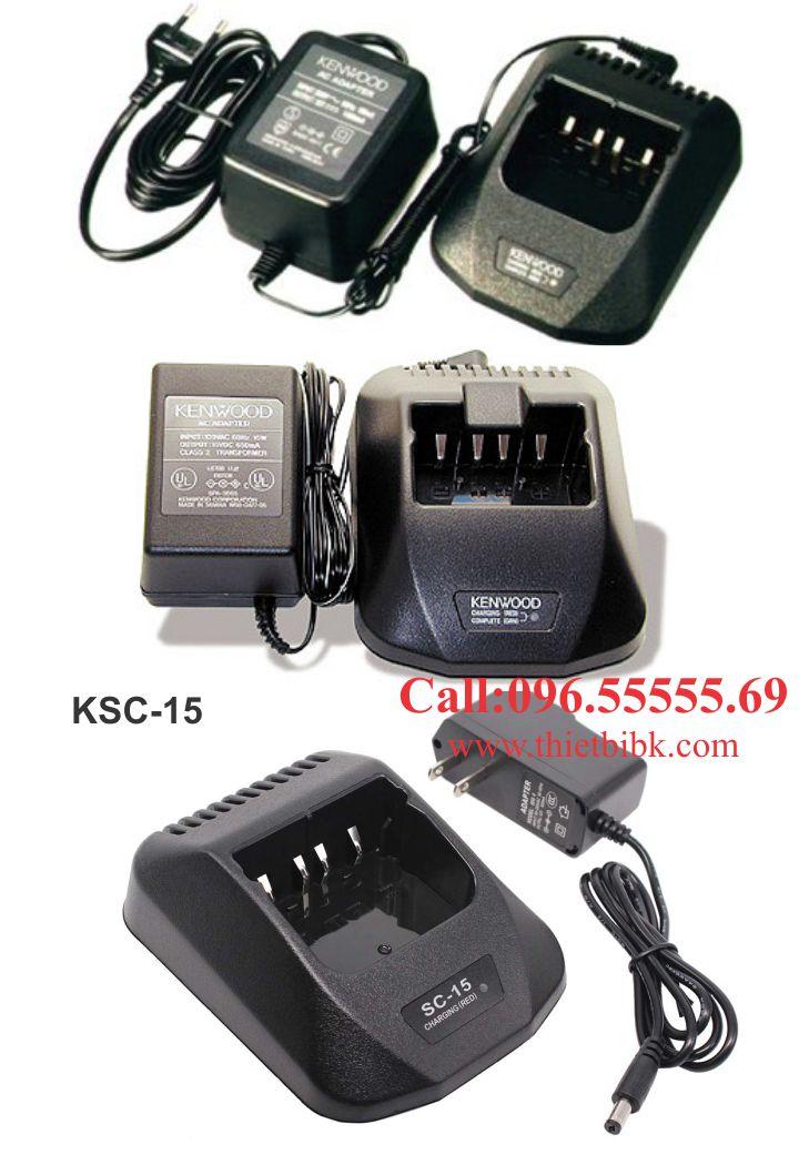 Sạc pin bộ đàm Kenwood KSC-15 dùng cho doanh nghiệp