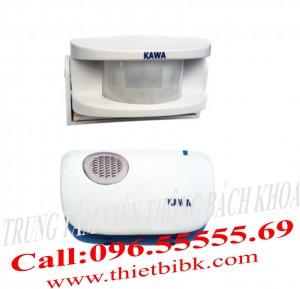 Chuông báo khách cảm ứng Kawa I218 (Dùng Pin)