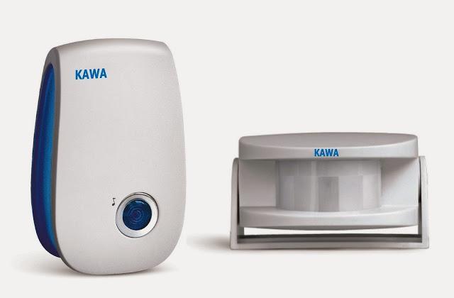 Chuông báo khách cảm ứng Kawa I228 -Dùng điện