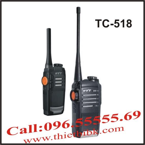 Bộ đàm HYT TC-518 dùng cho nhà hàng