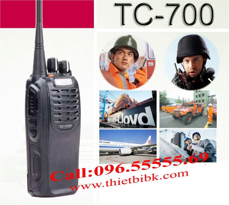 Bộ đàm HYT TC-700