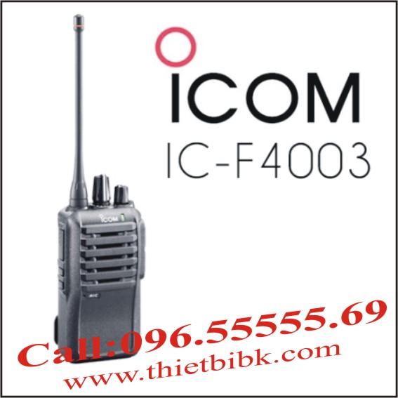 Bộ đàm Icom IC F4003