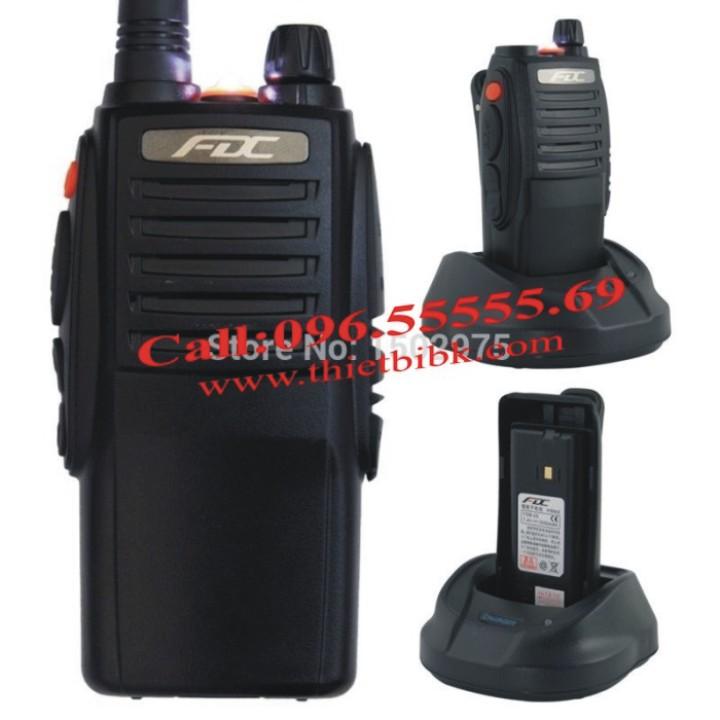 Bộ đàm cầm tay FEIDAXIN FD-850Plus - 10W với Pin Li-ion 3500mAh