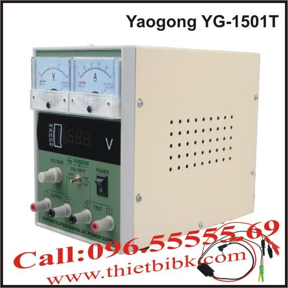 Đồng hồ đo dòng và báo sóng Yaogong Yg-1501T banner
