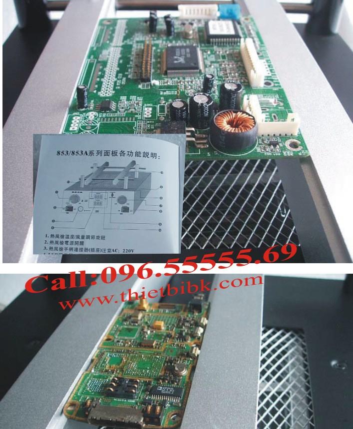 Máy hàn khò nướng Chipset KADA 853A và các loại bảng mạch PCB