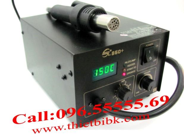 Máy khò nhiệt Yaogong 850+Máy khò nhiệt Yaogong 850+
