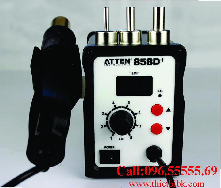 Máy khò từ Atten 858D dùng cho thợ sửa chữa điện tử