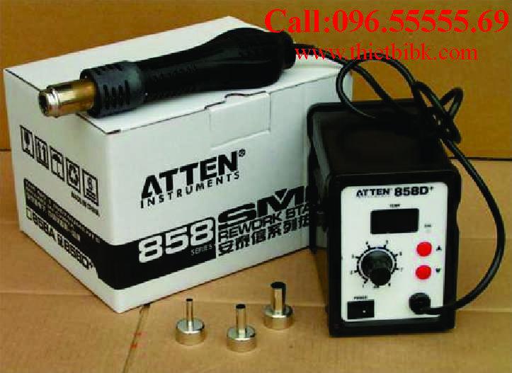 Máy khò từ Atten 858D dùng cho thợ sửa điện thoại di động