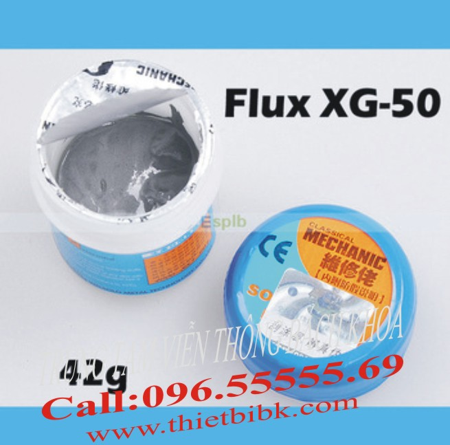 thiec bot MECHANIC Solder Paste XG-50 kem han