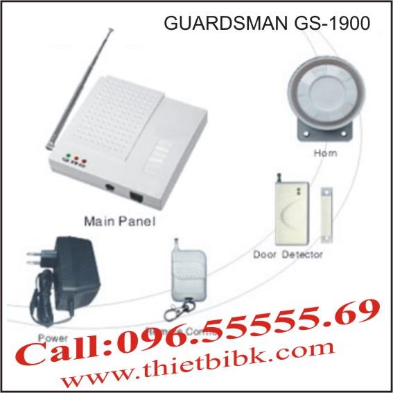 Hệ thống báo động không dây GUARDSMAN GS-1900