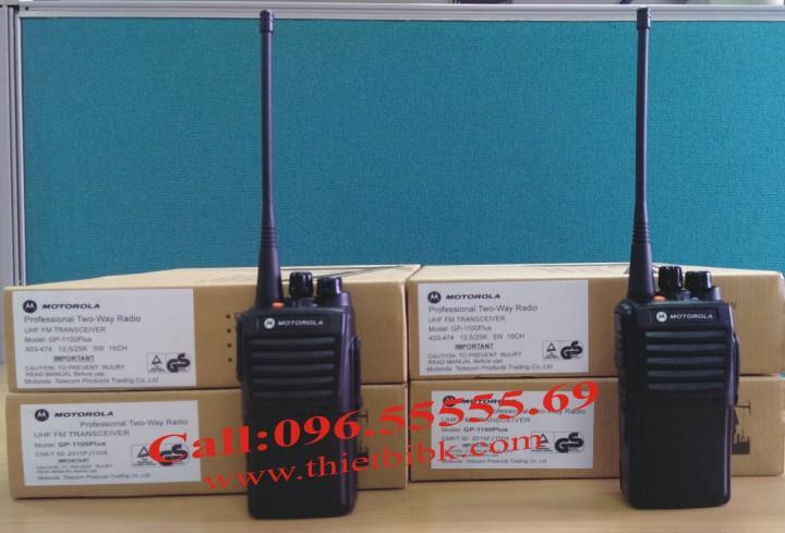 Bộ đàm Motorola GP 1100plus dùn cho công trường xây dựng