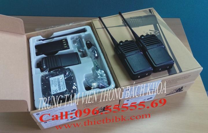 Bộ đàm Motorola GP 1100plus fullbox dùng cho khu công nghiệp