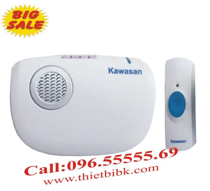 Chuông cửa không dây Kawa DB618 32 kiều chuông sử dụng pin