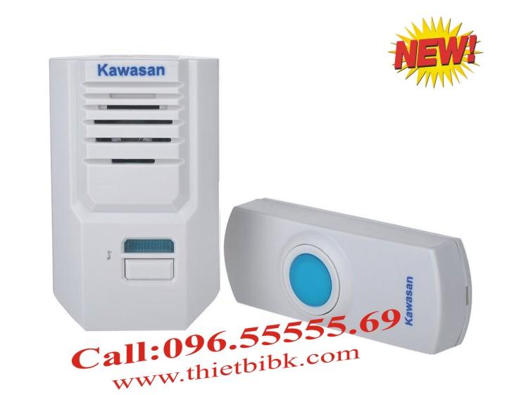 Chuông cửa không dây Kawa DB667 có thể điều chỉnh âm lượng chuông