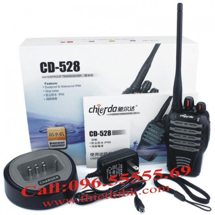 May bo dam dung cho cong truong Chierda CD-528 fullbox